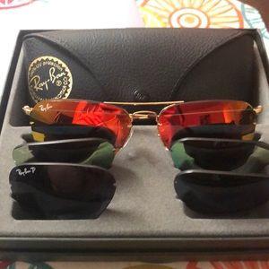 Brand new Rayban tech sunglasses